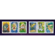 2002 The Magic Rainforest Set of Stamps