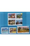 2008 Tourist Precincts Stamp Set of 7