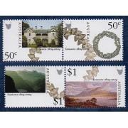 2004 Tasmania 1804-2004 Stamp Set of 2 x Se-tenant Pairs