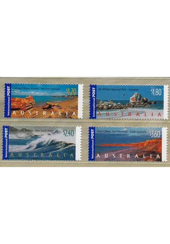 2004 Australian Coastlines Set of 4 Stamps