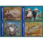 2005 Australia's Bush Wildlife Stamp Set of 4