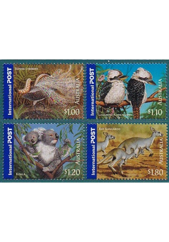 2005 Australia's Bush Wildlife Stamp Set of 4