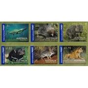 2006 Australian Native Wildlife International Set of 6 Stamps
