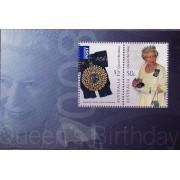 2008 Queens Birthday Miniature Sheet