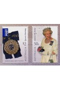 2008 Queens Birthday Set of Two Stamps