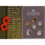 1995 Australian Proof Coin Set