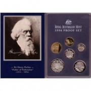 1996 Australian Proof Six Coin Set