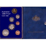 1986 Australian Proof Coin Set