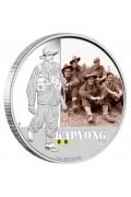 2012 Famous Australian Battles KAPYONG 1oz Silver Proof Coin
