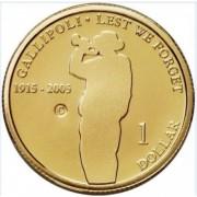 2005 Gallipoli $1 Uncirculated Coin - Sydney Mintmark