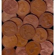 1 Kilo QE11 Great Britain Pennies