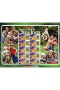 Steve Irwin Stamp Sheetlet - Special Tribute
