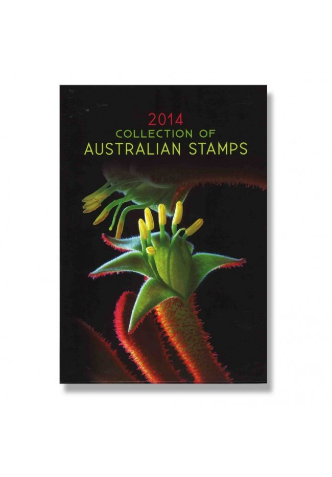 2014 Australia Post Annual Stamp Year Book