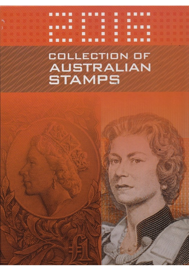 2016 Australia Post Stamp Yearbook