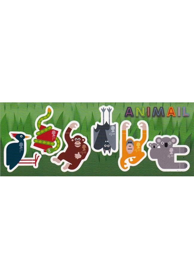 2016 GB Animail Self Adhesive M/S