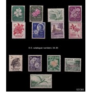 1960 Norfolk Island Stamp Definitives - Set of 13 MUH