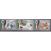 "1984 Norfolk Island ""Ausipex"" Stamp Set of 3"
