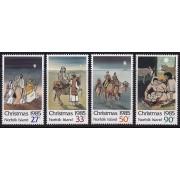 1985 Norfolk Island Christmas Stamp Set