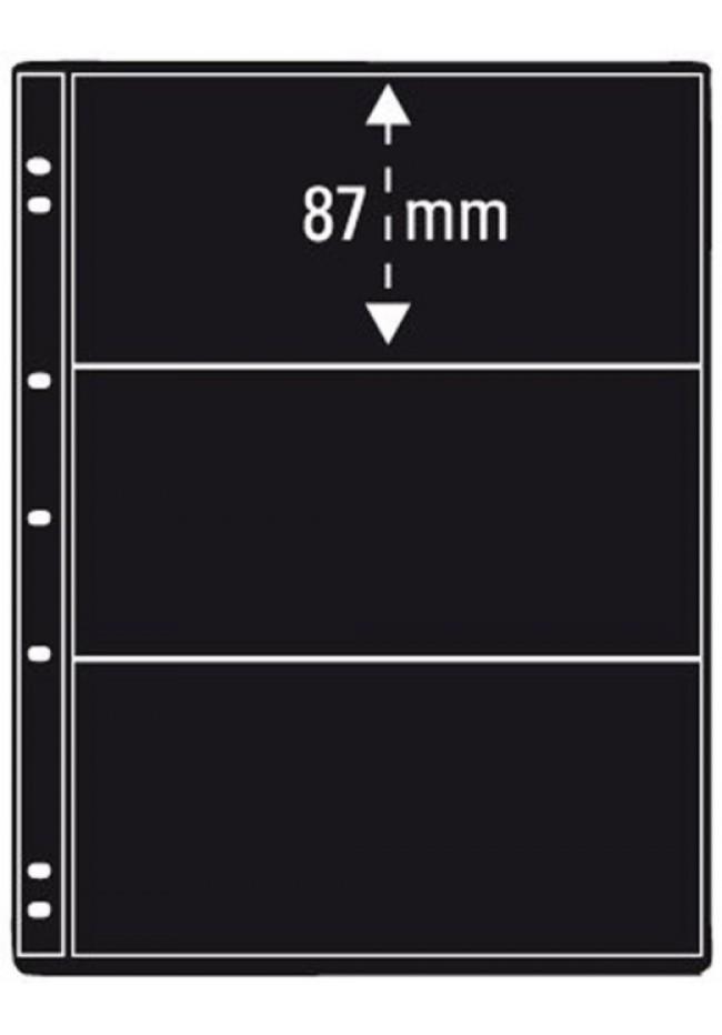 Prinz Pro-fil 3 Pocket Stamp Pages - 5 sheets per pack