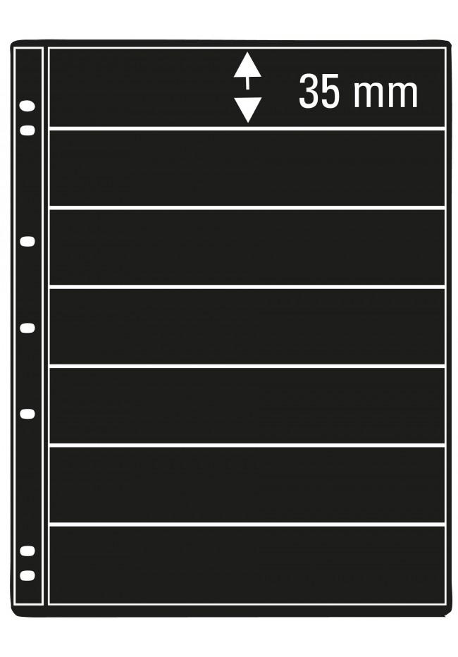 Prinz Pro-fil 7 Pocket Stamp Pages - 5 sheets per pack
