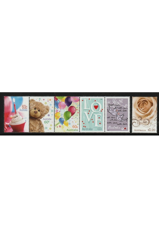 2012 Precious Moments Stamps, Mint Unhinged