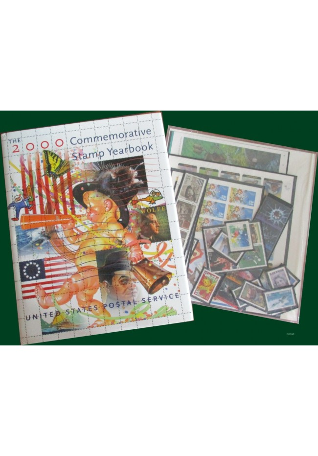 2000 United States Stamp Yearbook
