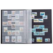 Lighthouse Stamp Black Page Stockbook