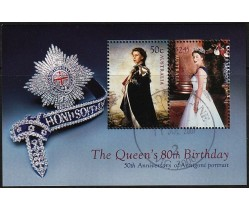 2006 The Queen's 80th Birthday Mini Sheets - Used