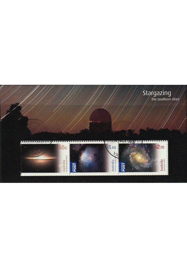 2009 Stargazing - The Southern Skies Mini Sheet Fine Used