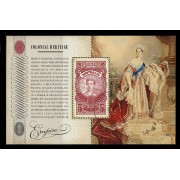 2010 Colonial Heritage - Empire Stamp Miniature Sheet Fine Used