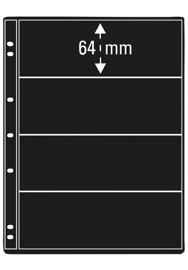 Prinz Pro-fil 4 Pocket Stamp Pages - 5 sheets per pack