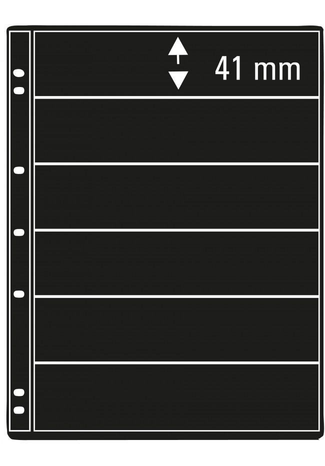 Prinz Pro-fil 6 Pocket Stamp Pages - 5 sheets per pack